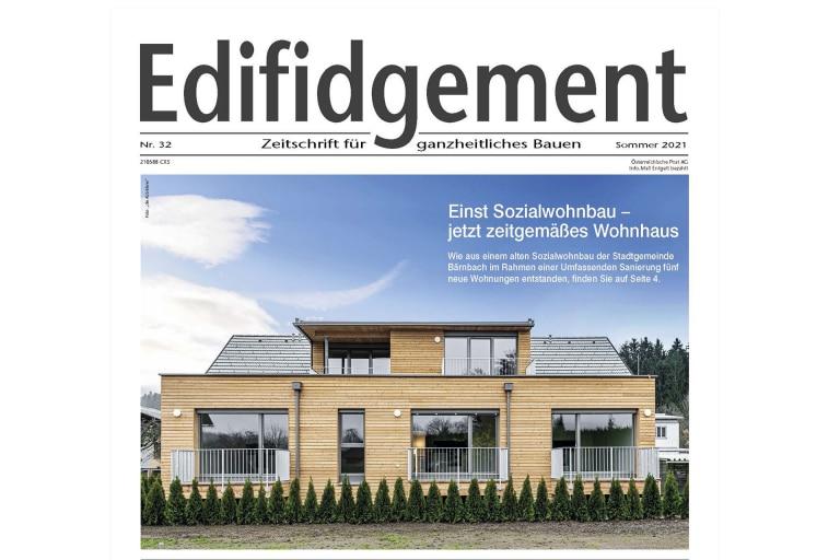 artivo-Edifidgement-Header-Bärnbach-2021, Wohnhaus Mühlgasse